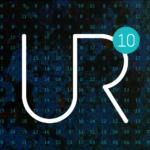 UR 10th anniversary logo
