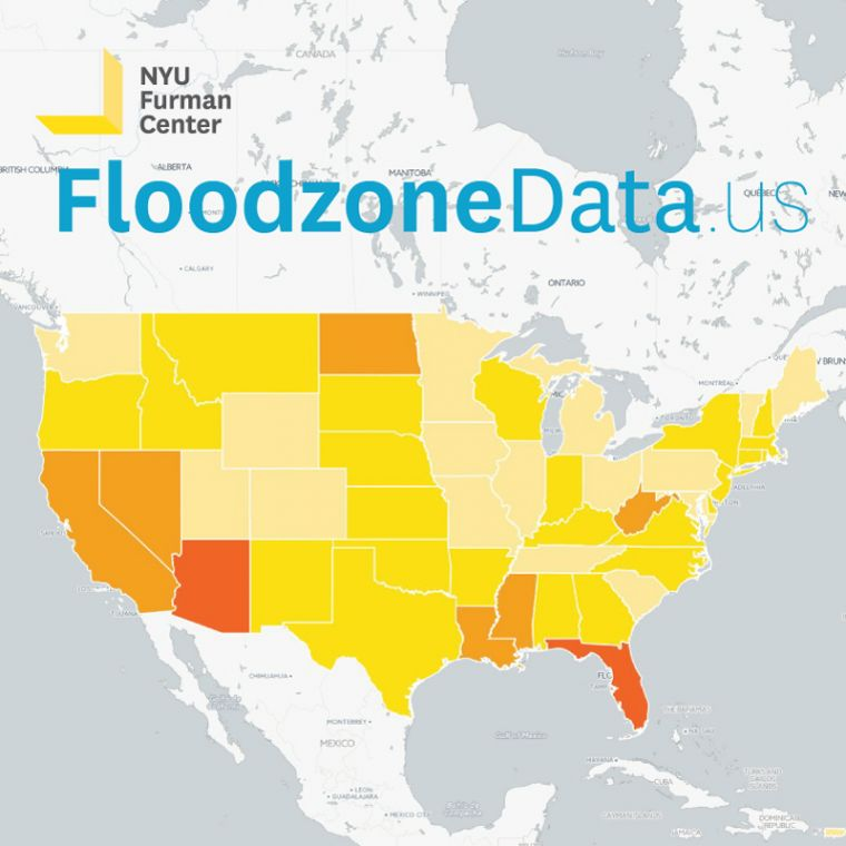 Understanding Risk News Blogs - Map of flooding in us