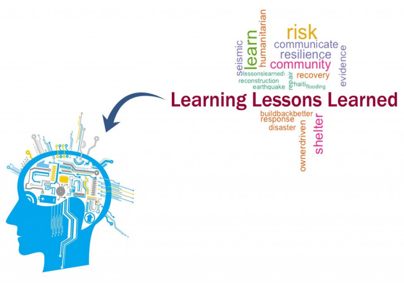 Disaster risk reduction in a changing climate – lessons learned about lessons learned