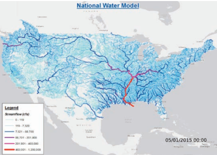 National Water Model (USA)