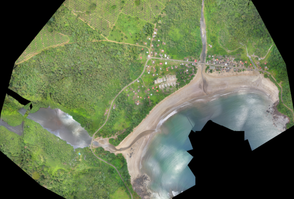 High resolution digital surface models using drones for coastal communities in São Tomé and Príncipe